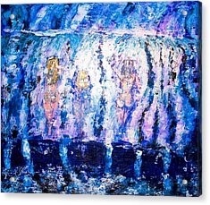 Acrylic Print featuring the painting Carefree by Piety Dsilva