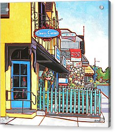 Acrylic Print featuring the painting Caren's Corner by Nadi Spencer