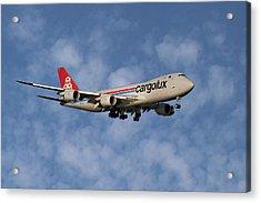 Cargolux Boeing 747-8r7 1 Acrylic Print