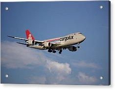 Cargolux Boeing 747-8r7 4 Acrylic Print