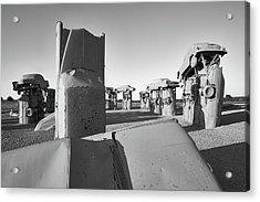 Carhenge 4 Acrylic Print by Jim Hughes