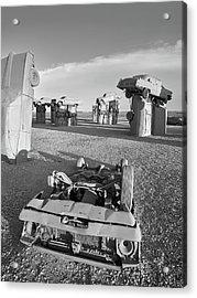 Carhenge 6 Acrylic Print by Jim Hughes