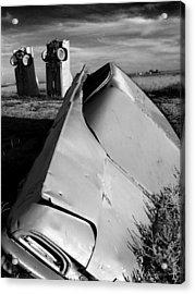 Carhenge Acrylic Print by Todd Fox