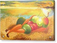 Caribbean Afrodite Acrylic Print