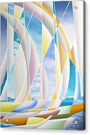Acrylic Print featuring the painting Caribbean Afternoon by Douglas Pike