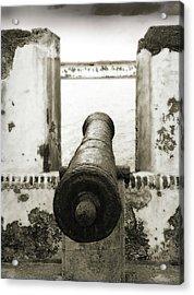 Caribbean Cannon Acrylic Print
