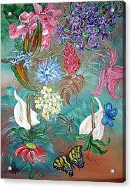 Caribbean Delight Acrylic Print by Mikki Alhart