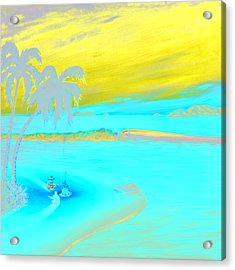 Caribbean Dreaming Acrylic Print by Patrick Parker