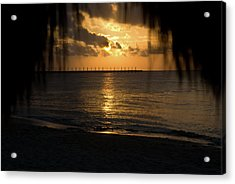 Caribbean Early Sunrise 5 Acrylic Print by Douglas Barnett