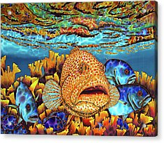Caribbean Sea - Eden Acrylic Print