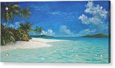 Caribbean Seclusion Acrylic Print