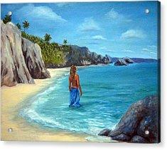 Caribean Dreaming Acrylic Print