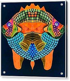 Caribean Fish Acrylic Print