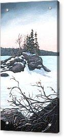 Carin Island Acrylic Print