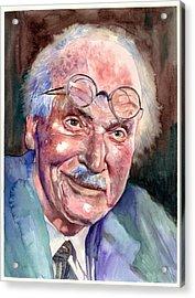Carl Gustav Jung Portrait Acrylic Print