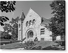 Carleton College Scoville Hall Acrylic Print by University Icons