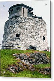 Carleton Martello Tower Acrylic Print