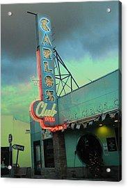 Carlos Club Acrylic Print by Kathleen Grace