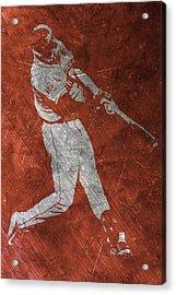 Carlos Correa Houston Astros Art Acrylic Print by Joe Hamilton