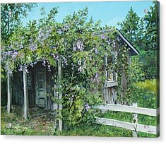 Carl's Shed Acrylic Print