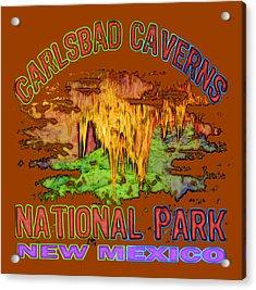 Carlsbad Caverns National Park Acrylic Print