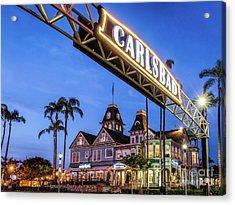 Carlsbad Welcome Sign Acrylic Print
