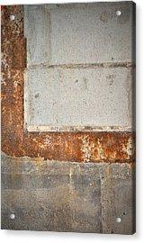 Carlton 14 - Abstract Concrete Wall Acrylic Print