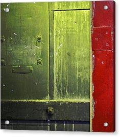 Carlton 6 - Firedoor Abstract Acrylic Print
