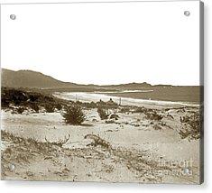 Carmel Beach, Carmel Point And Point Lobos Circa 1925 Acrylic Print by California Views Mr Pat Hathaway Archives