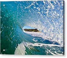 Acrylic Print featuring the photograph Carmel Blues by Paul Topp