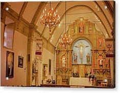 Carmel Mission, Mission San Carlos Borromeo Acrylic Print