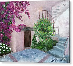 Carmel Mission Side Door Acrylic Print