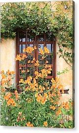 Carmel Mission Window Acrylic Print