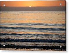 Carmel Sunset Acrylic Print by Harvey Barrison