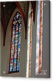 Carmelite Convent Church Mainz Acrylic Print by Sarah Loft