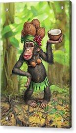 Carmen Coconuts Acrylic Print