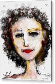 Carmine Acrylic Print by Elaine Lanoue