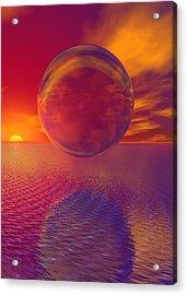 Carnavle Acrylic Print