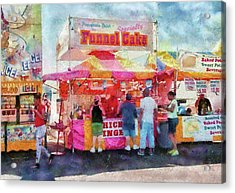 Carnival - The Variety Is Endless Acrylic Print by Mike Savad