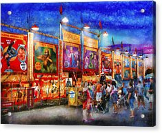 Carnival - World Of Wonders Acrylic Print by Mike Savad