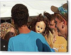 Acrylic Print featuring the photograph Carnival Adoption by Joe Jake Pratt
