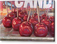 Carnival Apples Acrylic Print
