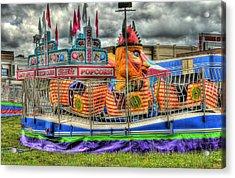 Carnival At Crocker Park Acrylic Print by Neil Doren