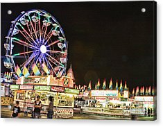 carnival Fun and Food Acrylic Print by James BO  Insogna