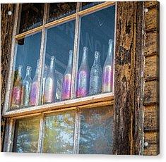 Carnival Glass Acrylic Print