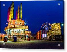 Carnival Glo Acrylic Print by Bryan Moore