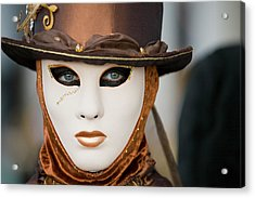 Carnival In Brown Acrylic Print