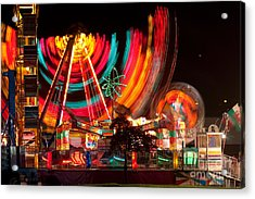 Carnival In Motion Acrylic Print by James BO  Insogna