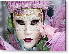 Carnival In Pink Acrylic Print