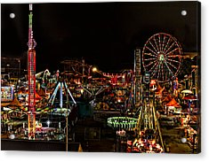 Carnival Midway Acrylic Print
